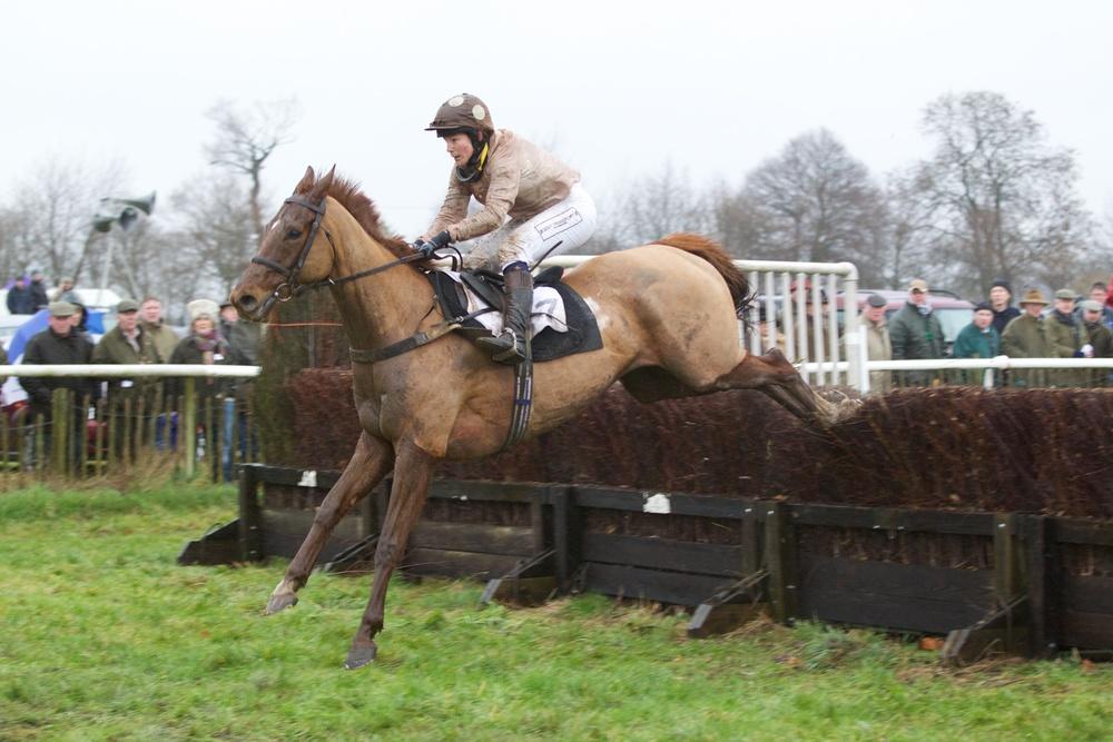 Jo Buck's first Higham ride is a winning one aboard Red Danaher