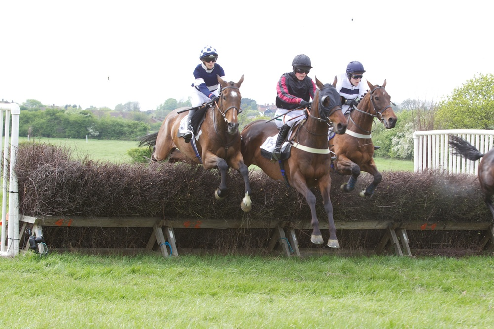 Frankie Anson (left) continues the good form of Rosie Thorogood
