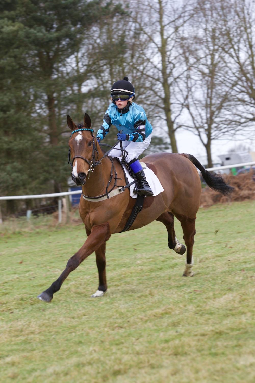 Beside The Sea (Benoit de la Sayette) - 148cm & under pony race winner