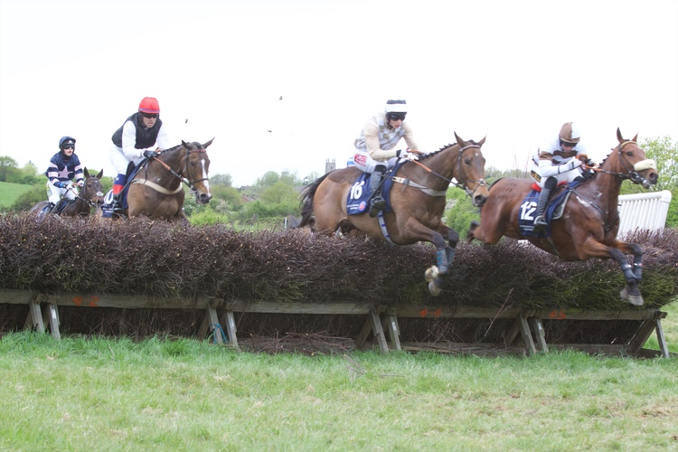 Silvogans Hook (right) en route to completing the Collinson/Pennock treble