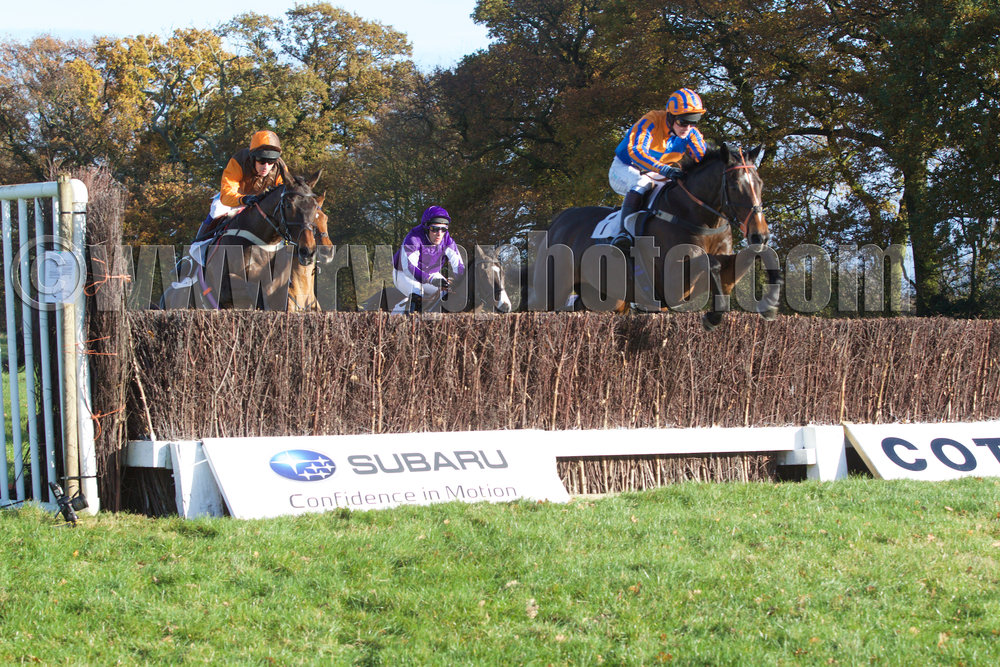 Lough Inch in front and en route to a fifth Cottenham victory