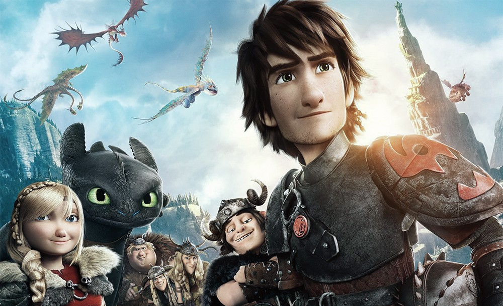'How to Train Your Dragon 2' characters