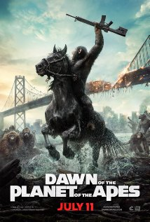 'Dawn of the Planet of the Apes' movie poster
