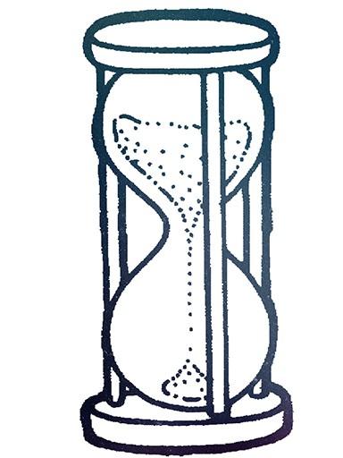 Hour clock illustration