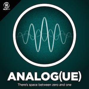 Analog(ue) podcast cover art