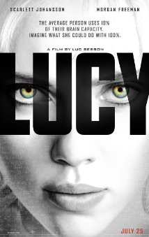 'Lucy' movie poster