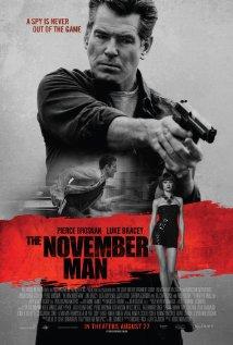 'The November Man' movie poster