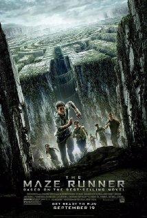 'The Maze Runner' movie poster