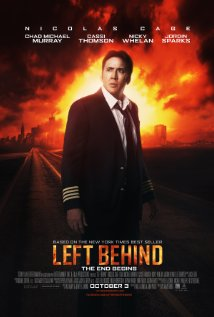 'Left Behind' movie poster