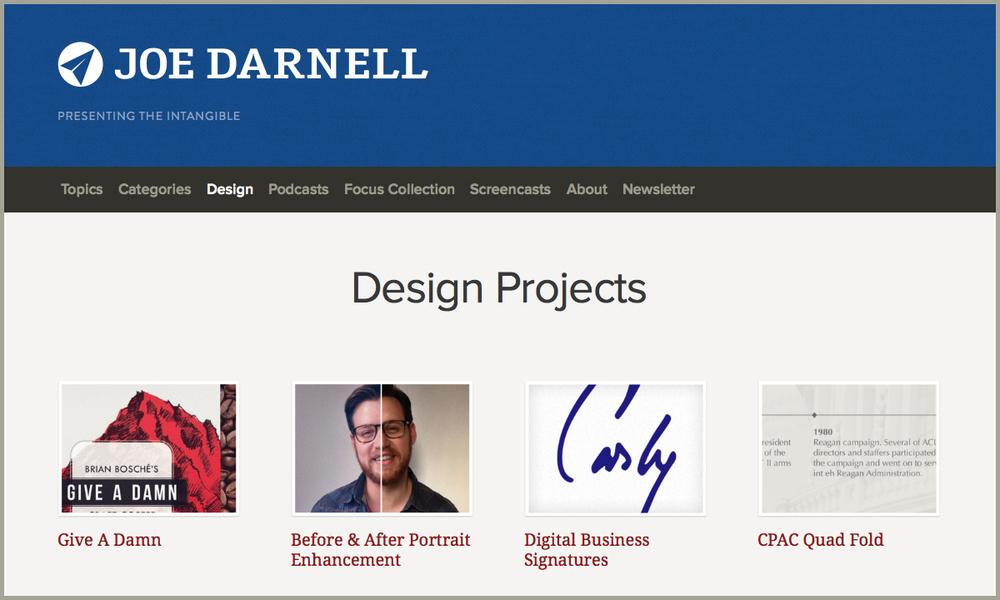 Joe Darnell site
