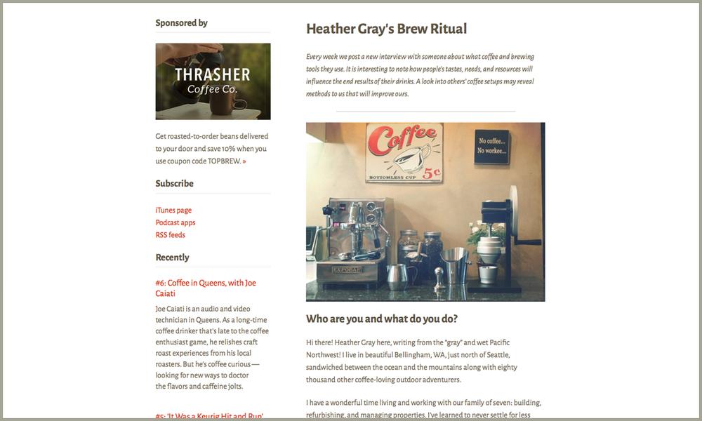 Top Brew site
