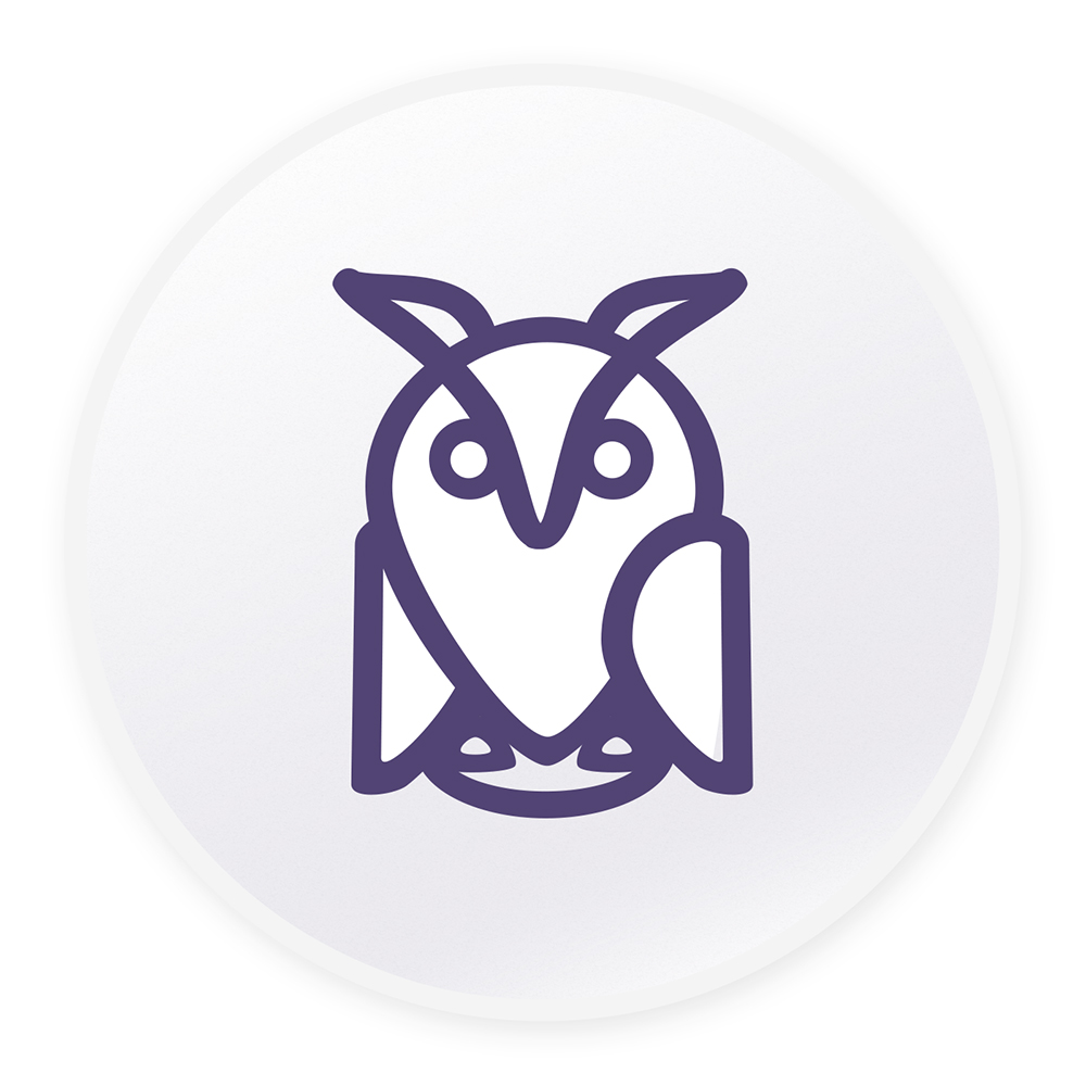 Joe Darnell site owl logo