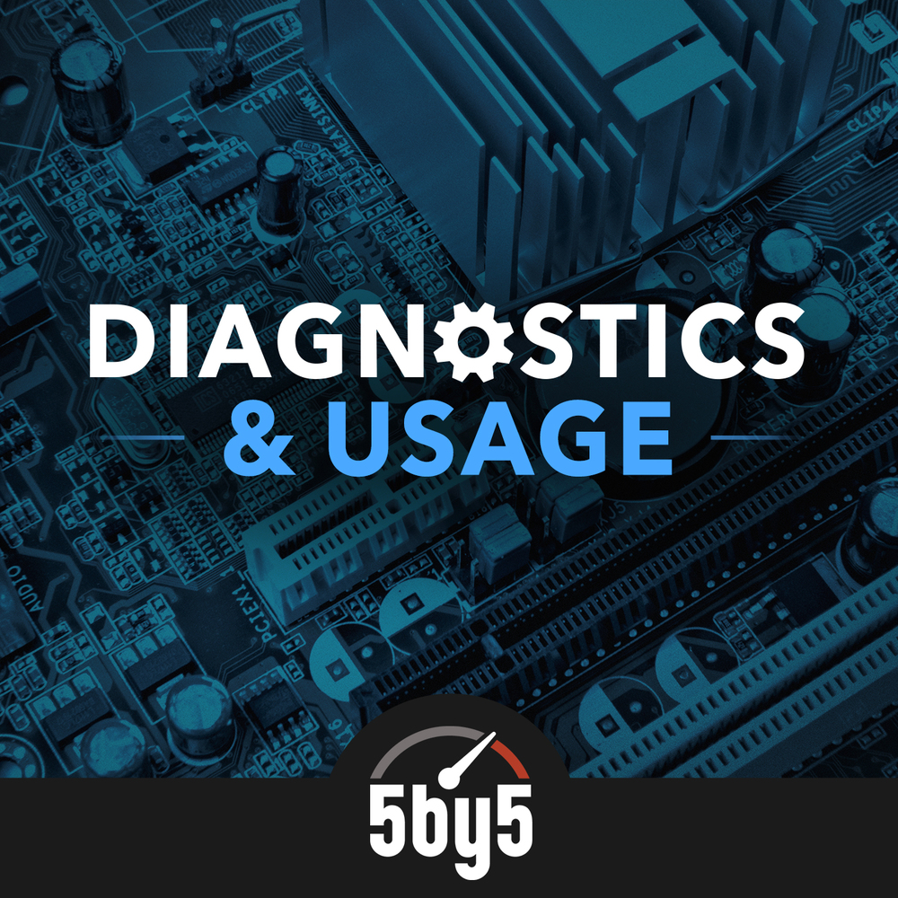Diagnostics & Usage podcast cover art
