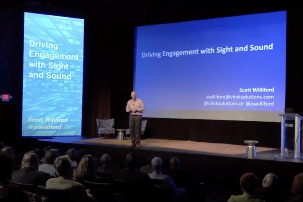 Scott Williford at speaker showcase 2016