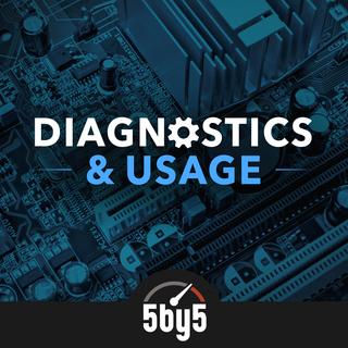 Diagnostics & Usage podcast cover