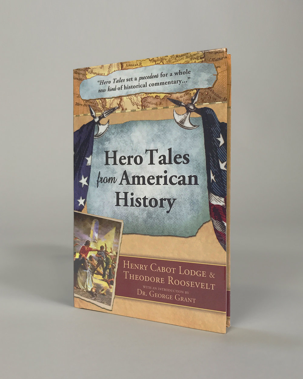 'Hero Tales' front cover