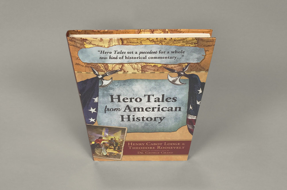'Hero Tales' book top