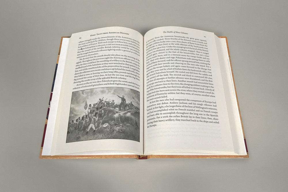 'Hero Tales' book open