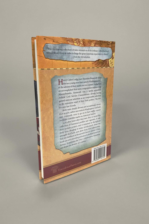 'Hero Tales' book back