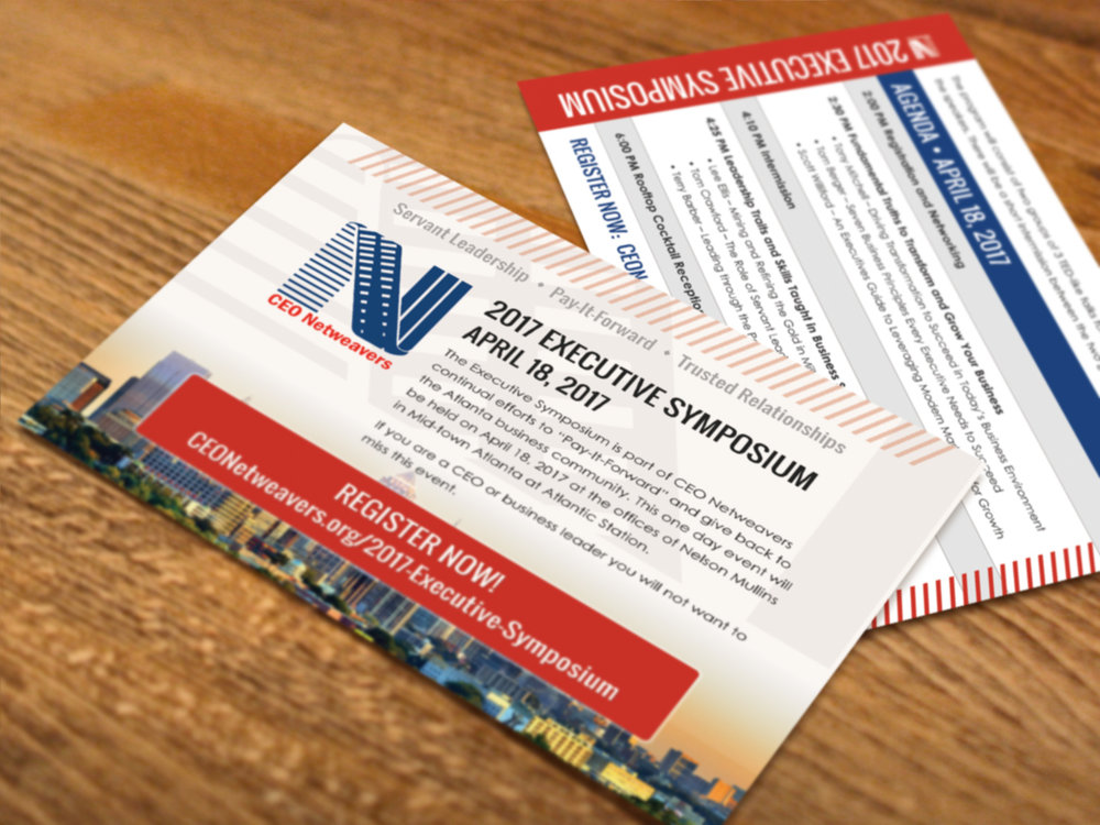 CEO Netweavers postcard