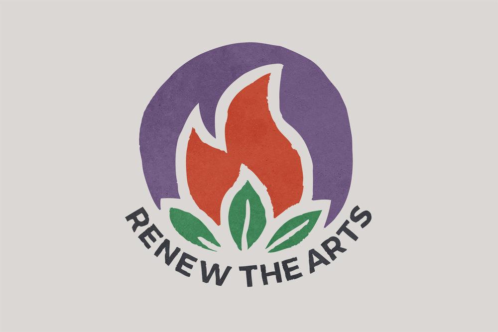 Renew The Arts logo