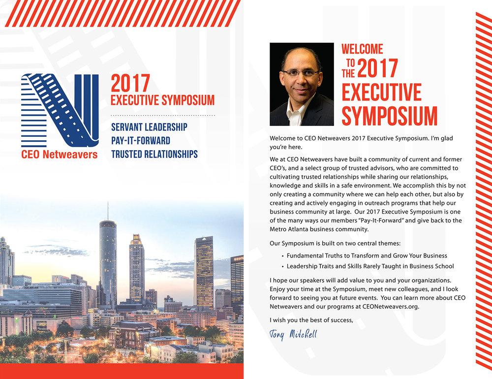 CEO NETweavers symposium cover