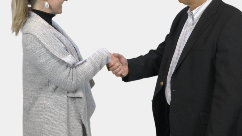 Handshaking example
