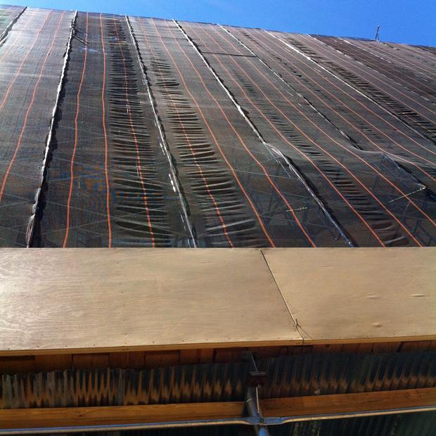 scaffolding city