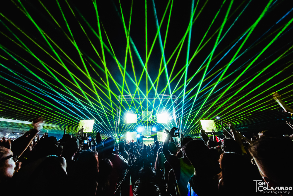 Knife Party @ Escapade Music Festival 2015