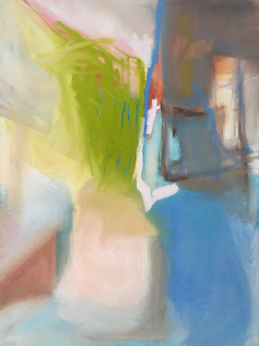 Spring Season, Oil on Canvas, 40 x 30