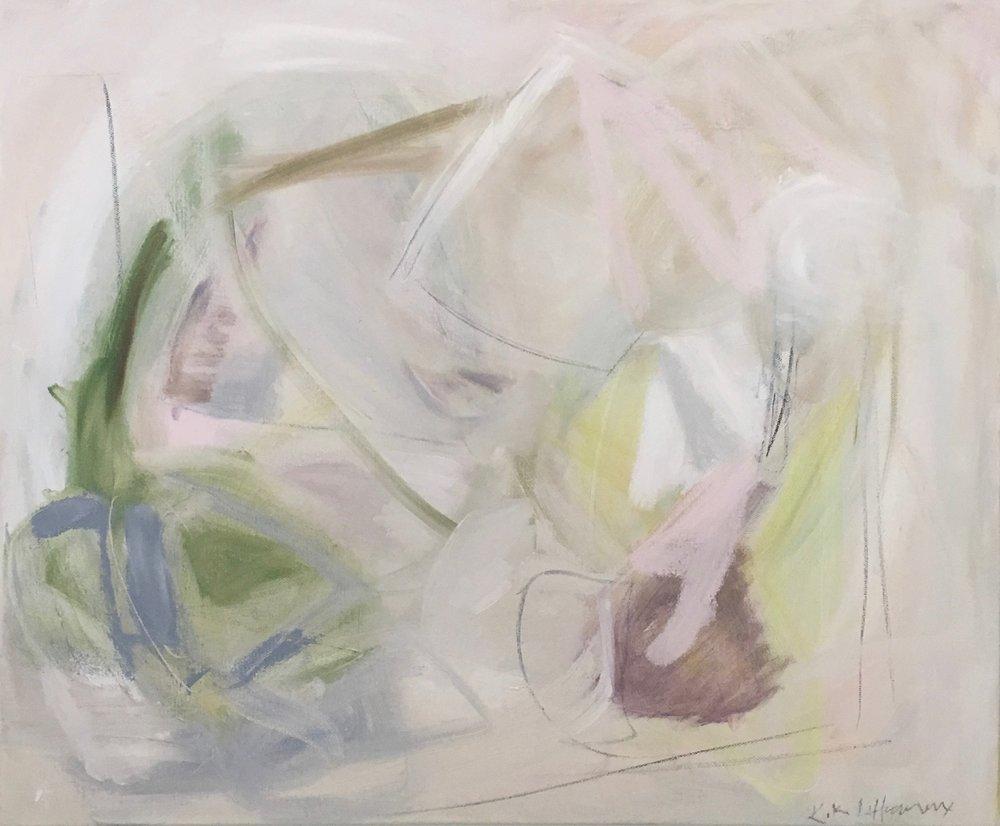 Modelista, Mixed Media on Canvas, 20 x 24