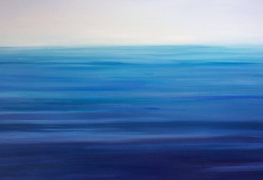 Ocean Prism, Oil on canvas, 40 x 60