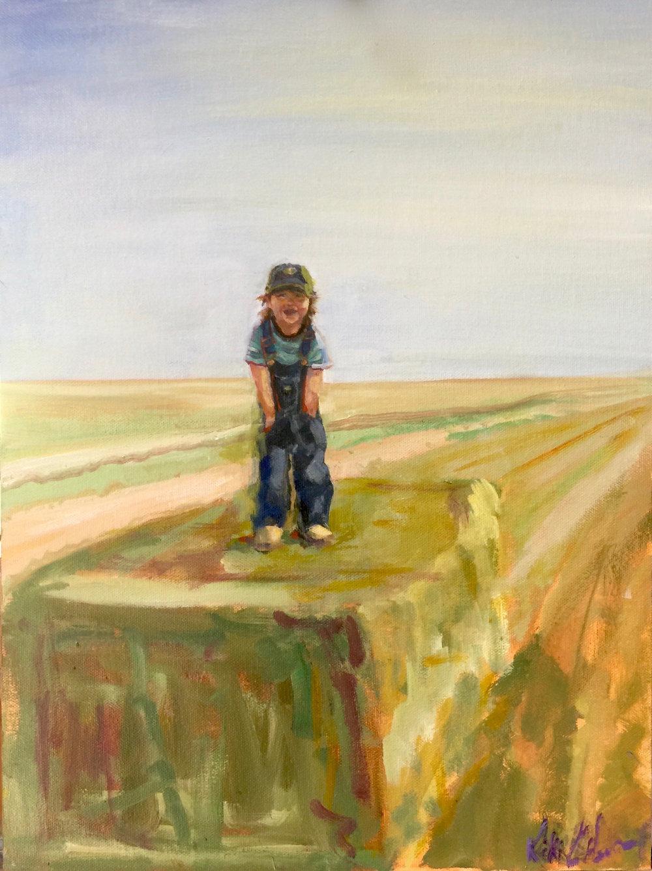 Jackson, Oil on canvas, 16 x 12