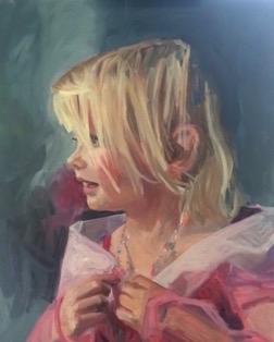 Princess Zoe, Oil on Canvas, 20 x 16