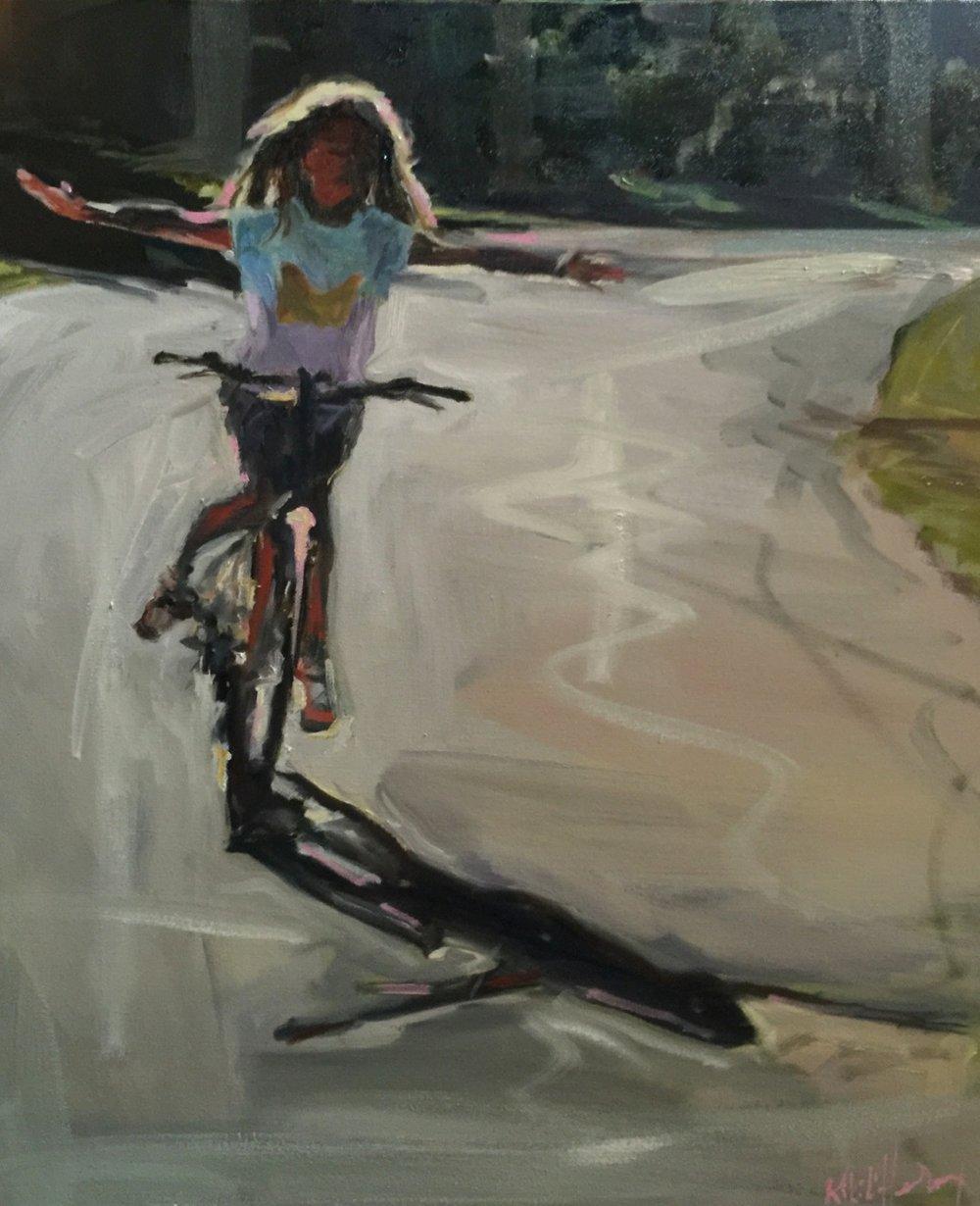Phoebe, Oil on Canvas, 24 x 20