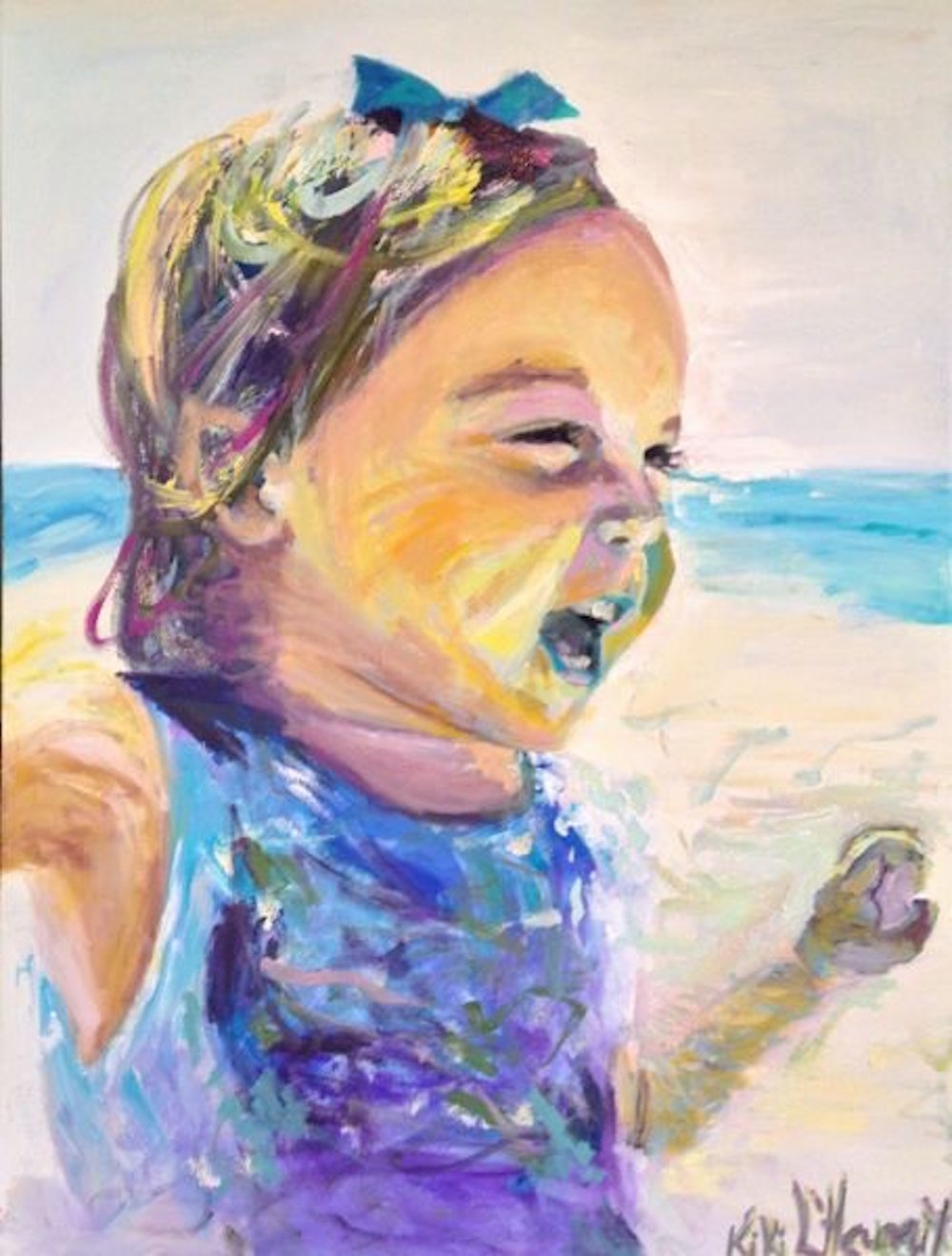 Piper, Oil on Canvas, 40x30