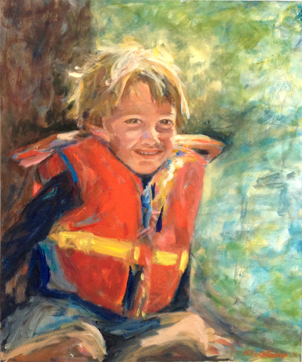 Holden, Oil on Canvas, 24 x 20