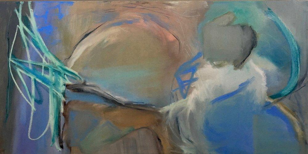 Glades, Mixed Media on canvas, 24 x 48