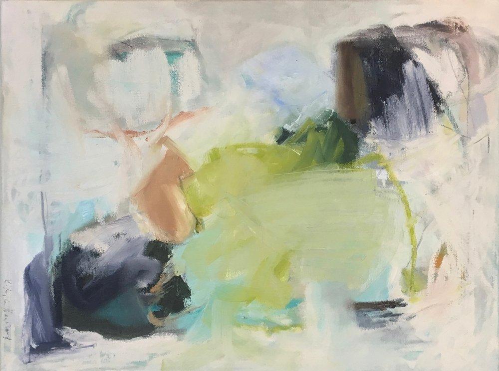 Prairie, Mixed Media on Canvas, 18 x 24