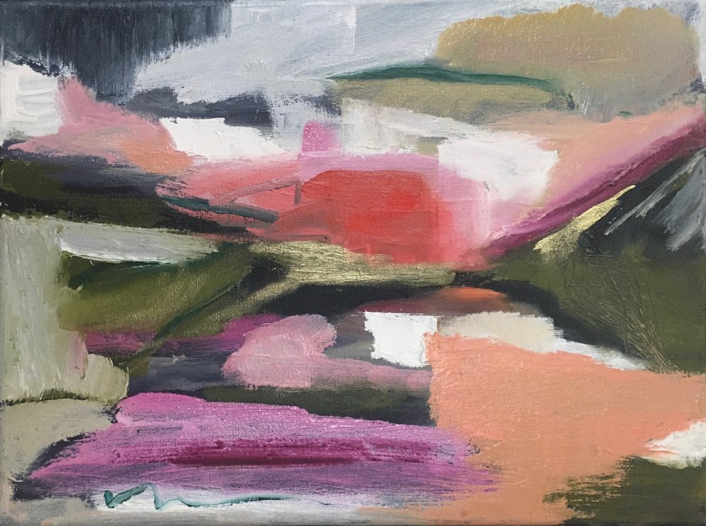 Emilia, Oil on canvas, 9 x 12