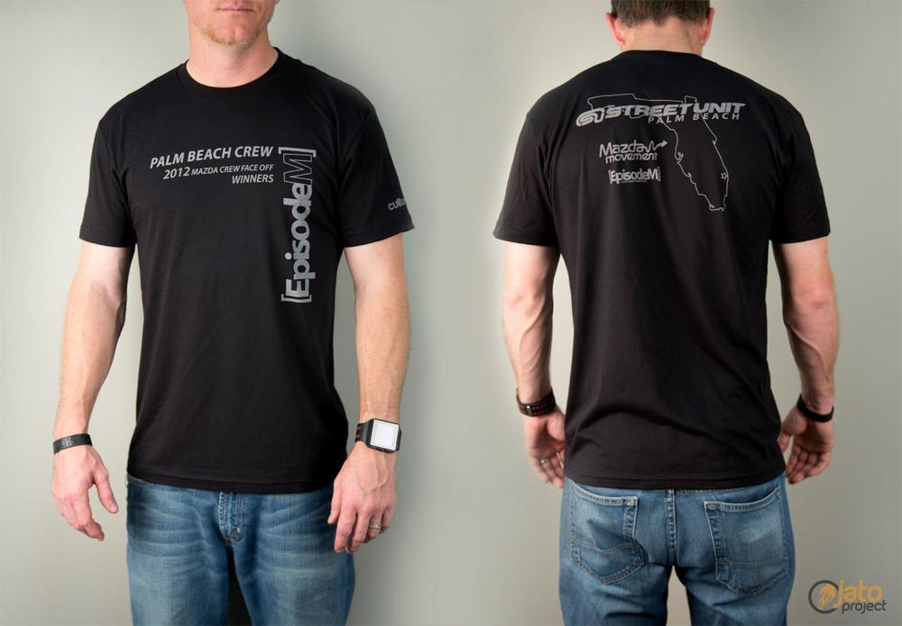 2012 Winning Crew Shirt - Custom JATO Project Design   (Click to enlarge)