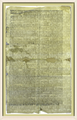 1863 Daily Citizen - Border