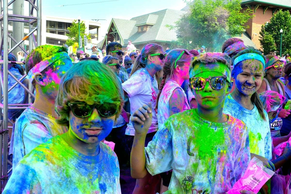 Tim Johnson: Color Run