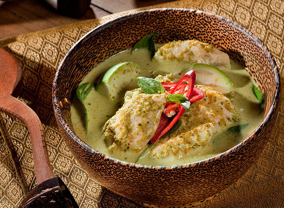 Spicy: Our Thai Green Curry with Jasmine Rice