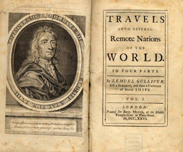 3. The Small-endians and the Big-endians appeared in the adventures of which literary character? (Lemuel)  Gulliver  (Gullivers Travels)
