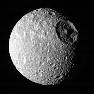 7. Mimas is a moon of which planet?  Saturn