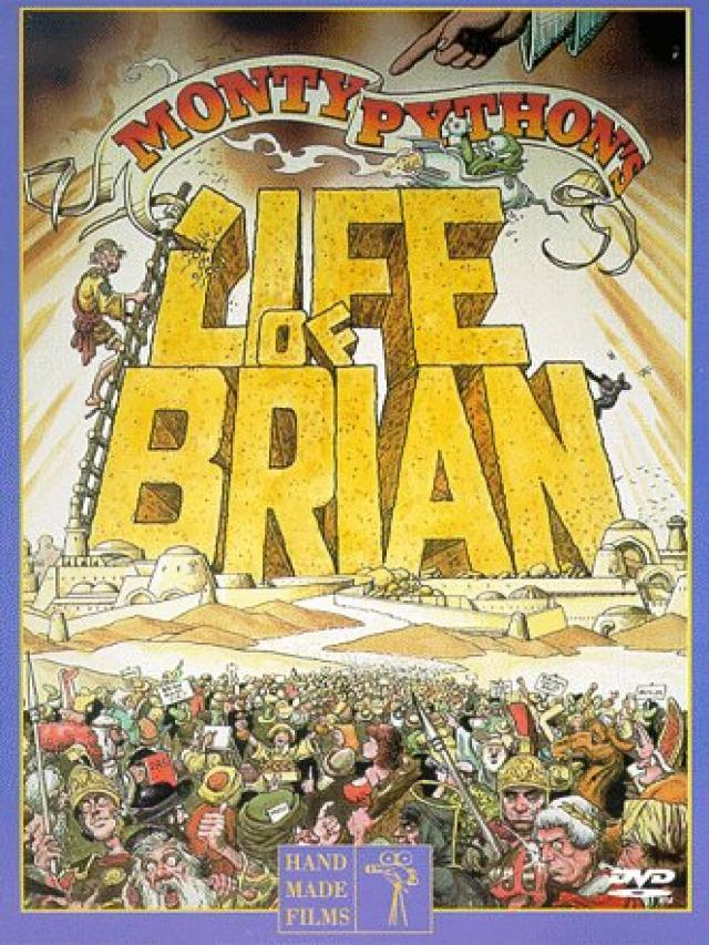 "40. ""He's not the messiah – he's a very naughty boy"". Name the film and for a bonus point, the year?  Life of Brian (1979)"
