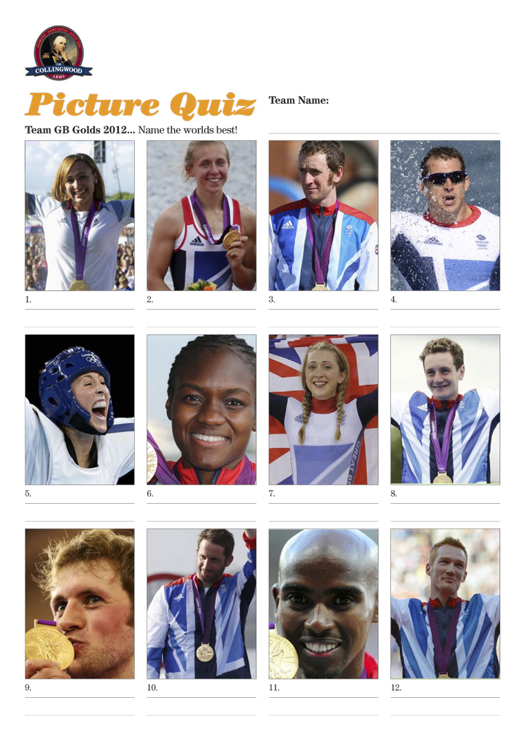 Can you name the GB Gold Winners?