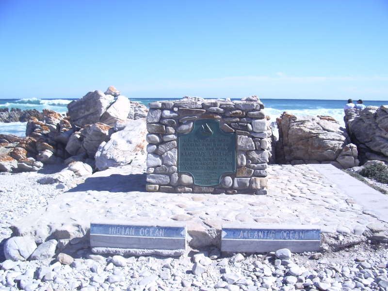 5. Cape Agulhas is the southernmost point of which continent?  Africa