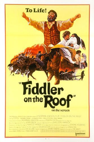 13. The village of Anatevka appears in which musical?  Fiddler on the Roof